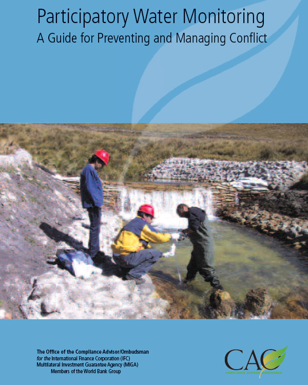 Participatory Water Monitoring: A Guide for Preventing and Managing Conflict - Advisory Note