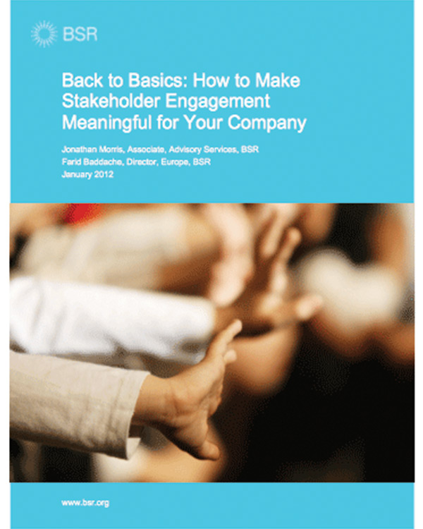Back to Basics: How to Make Stakeholder Engagement Meaningful for Your Company