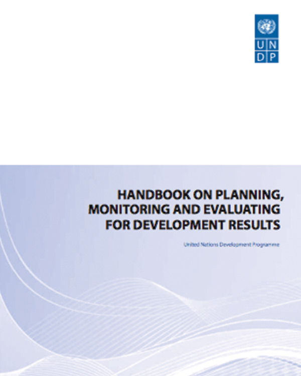 Handbook on Planning, Monitoring and Evaluating for Results