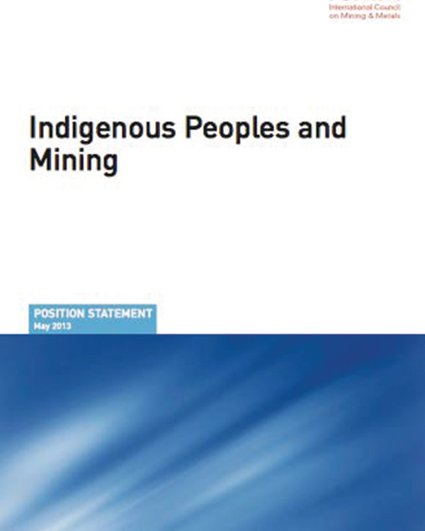 ICMM Position Statement on Indigenous People and Mining