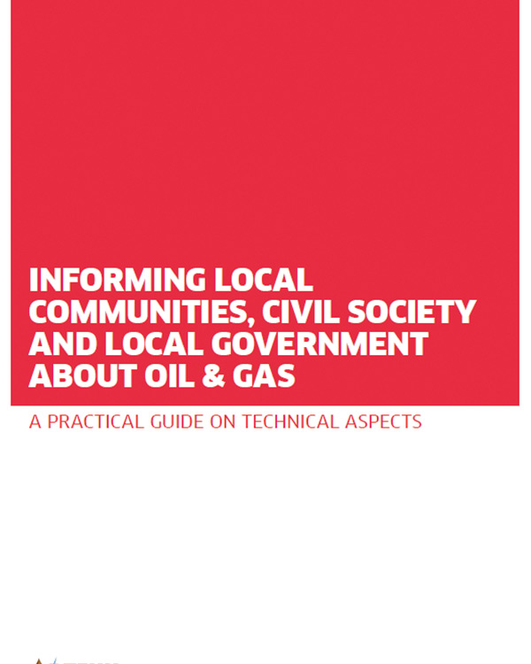 Informing Local Communities, Civil Society and Local Government about Oil & Gas
