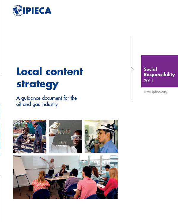 Local Content Strategy A Guide Document for the Oil and Gas Industry