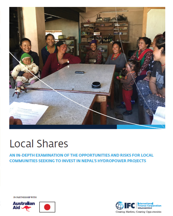 Local Shares: An In-depth Examination of the Opportunities and Risks for Local Communities Seeking to Invest in Nepal's Hydropower Projects