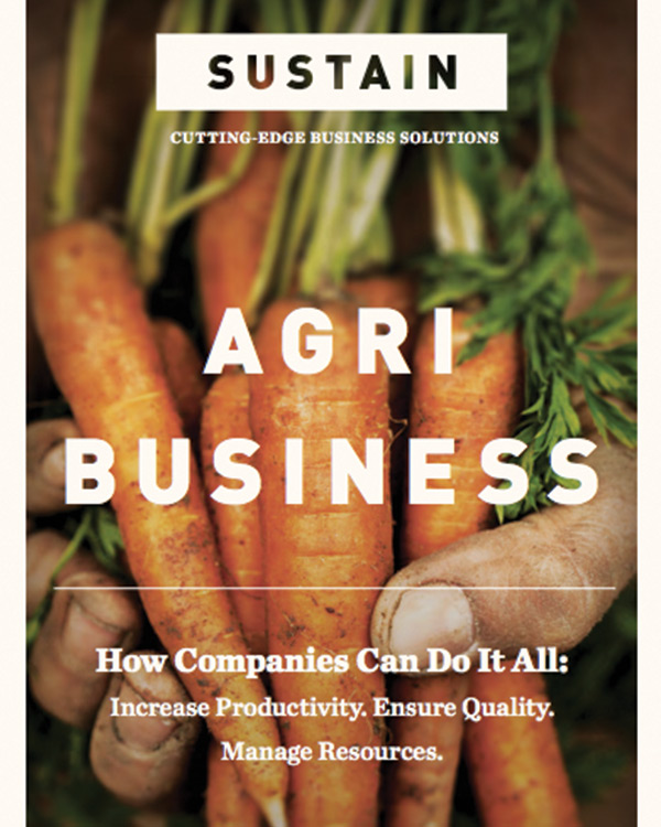 SUSTAIN: Cutting-edge business solutions magazine in Agribusiness