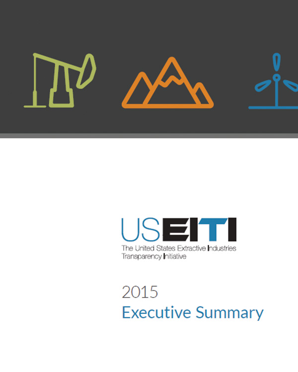 USEITI 2015 Executive Summary
