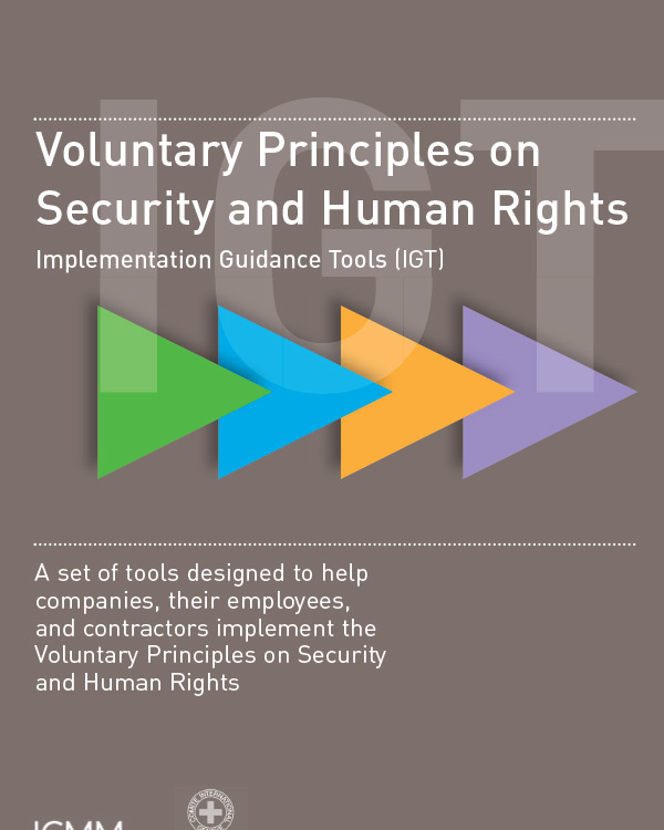 Voluntary Principles on Human Rights Implementation Guidance Tools (IGT)