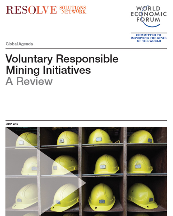 Voluntary Responsible Mining Initiatives