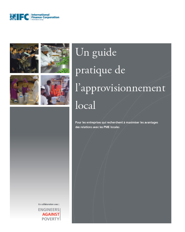 [French version] Un guide practique de l'approvisionnement local