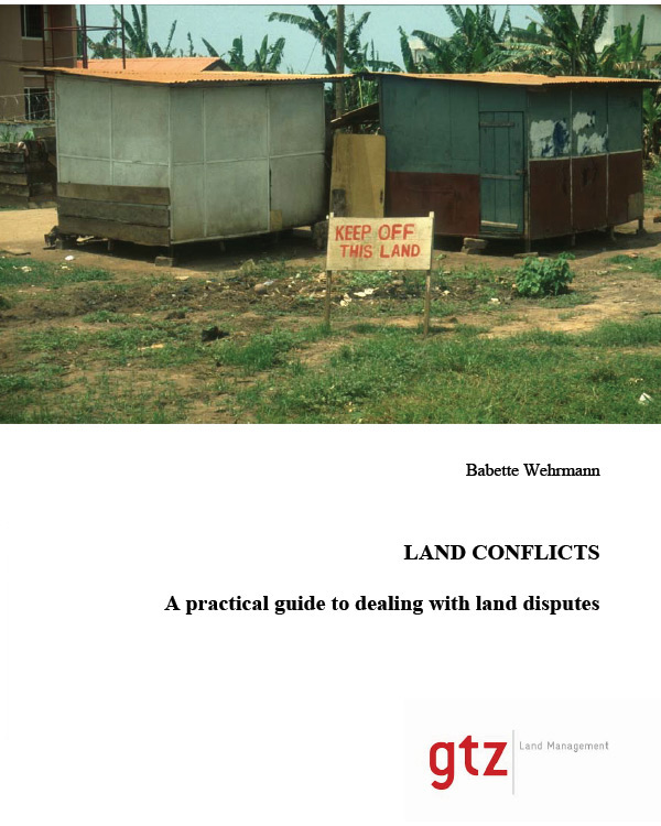 A practical guide to dealing with land disputes