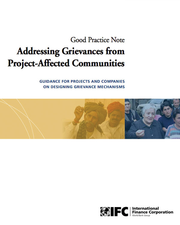 Addressing Grievances from Project-Affected Communities