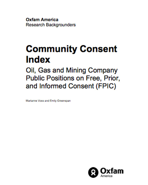 Community Consent Index