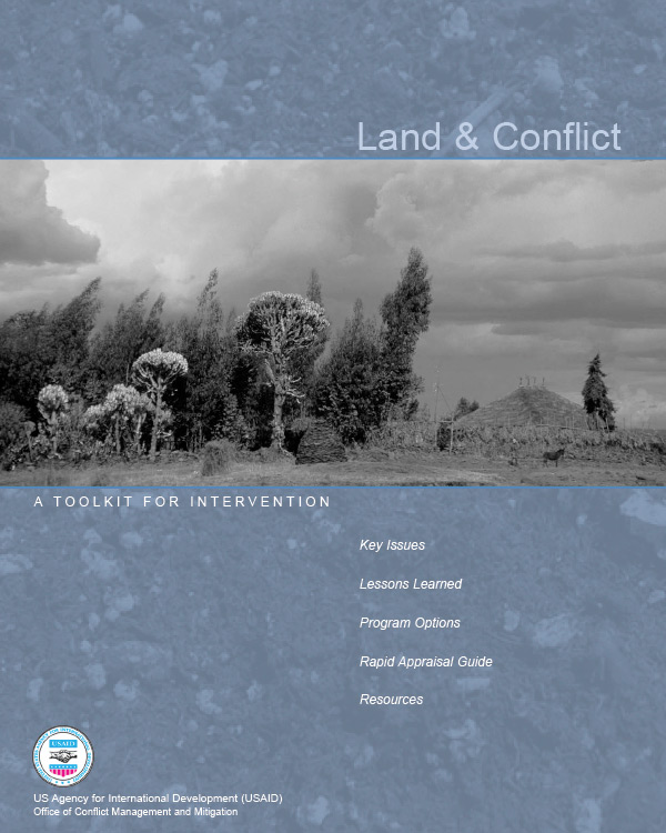 Land & Conflict: A Toolkit for Intervention