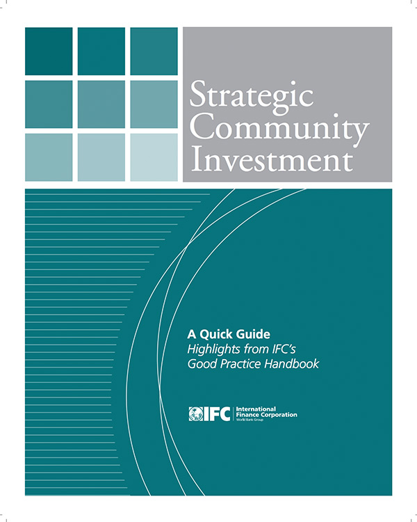 Strategic Community Investment (SCI): A Good Practice Handbook for Companies Doing Business in Emerging Markets [English Version – Quick Guide]