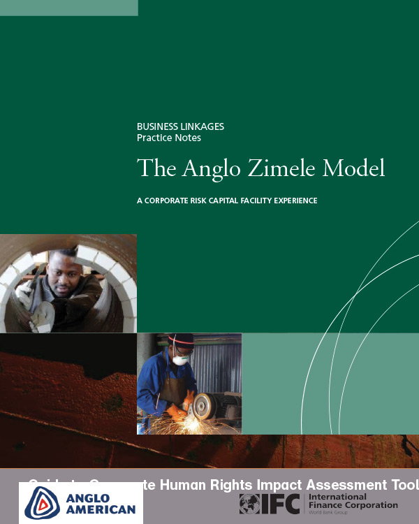 The Anglo Zimele Model