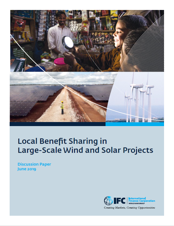 Local Benefit Sharing in Large-Scale Wind and Solar Projects