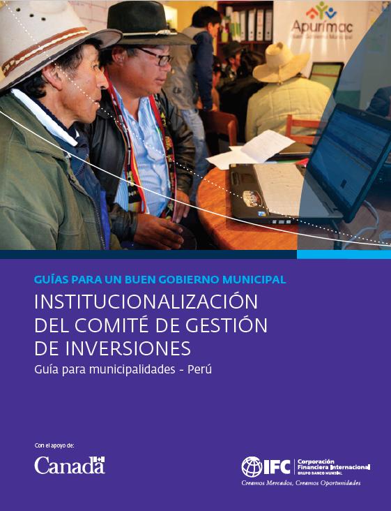 1 Institucionalización del Comité de Gestión de Inversiones