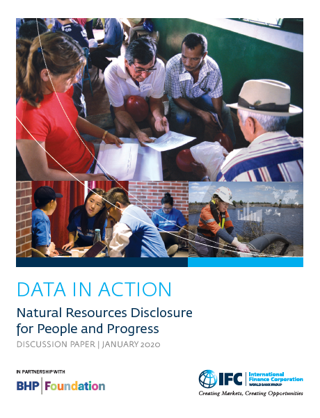 Data in Action: Natural Resources Disclosure for People and Progress