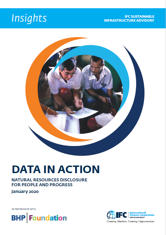 Highlights: Data in Action: Natural Resources Disclosure for People and Progress January 2020