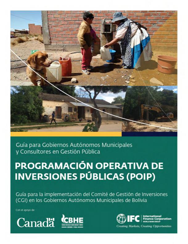 [Spanish Version] Guía 3: Programación Operativa de Inversiones Públicas (POIP)